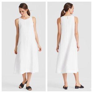 Eileen Fisher Organic Linen Handkerchief Dress NWT